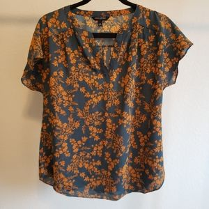 Banana Republic Floral Blouse